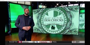 """A broadcast of ESPN's """"SportsCenter"""" is seen on Sling TV's ESPN 2 channel. (Photo: The Desk)"""