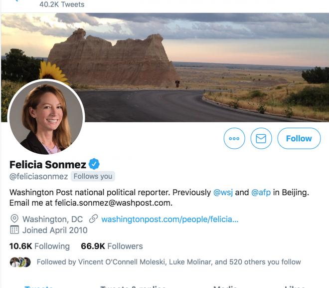 Washington Post reporter suspended following Kobe Bryant tweet backlash