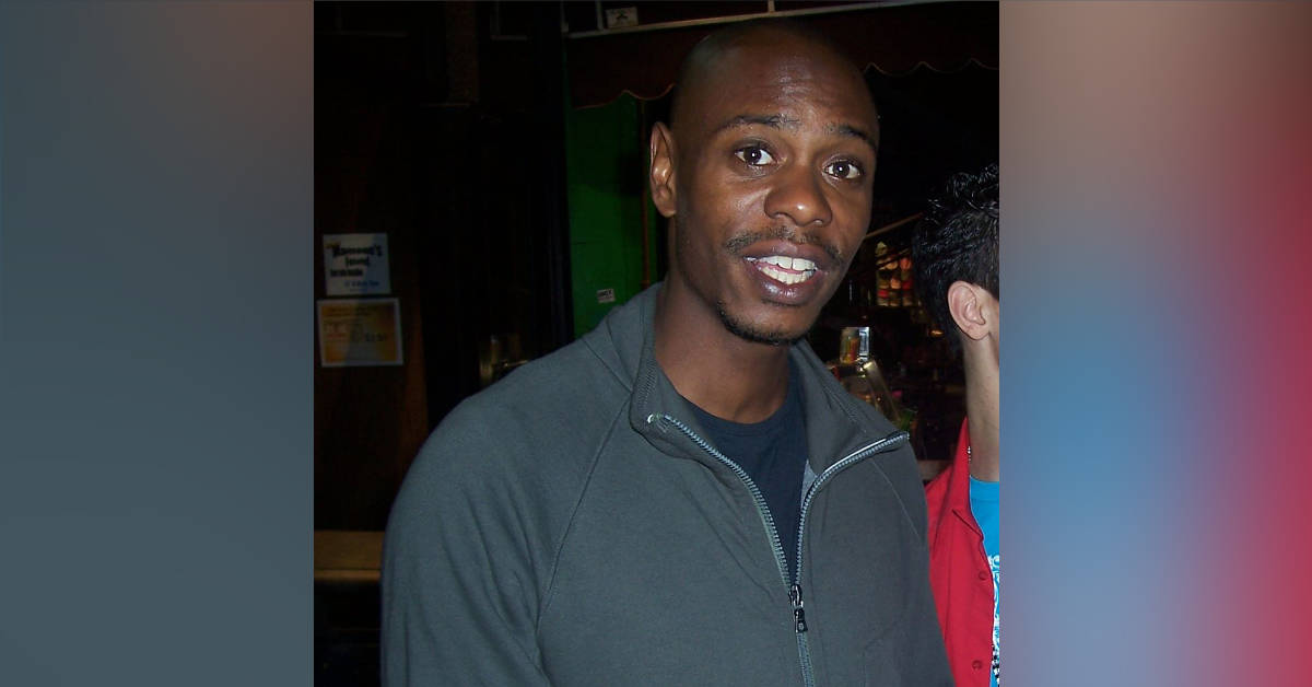 Comedian Dave Chappelle appears in a 2007 photograph.