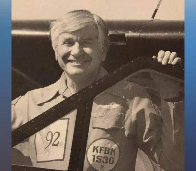 Former Sacramento airborne reporter Bill Eveland dies at 91
