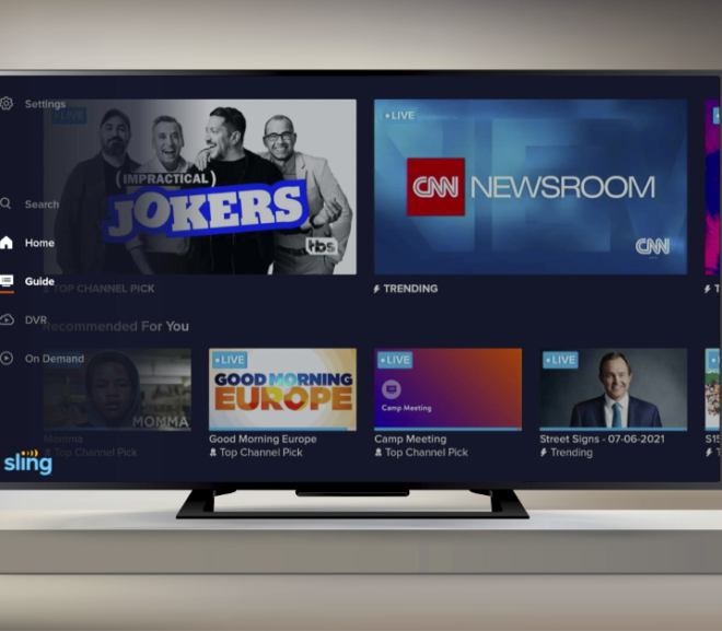 New Sling TV interface lands on some Android TV devices