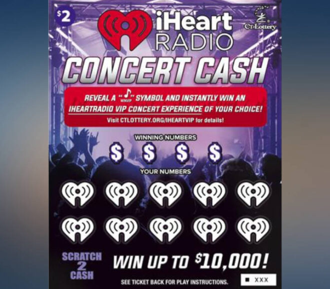 Connecticut Lottery begins offering iHeart Radio scratchers