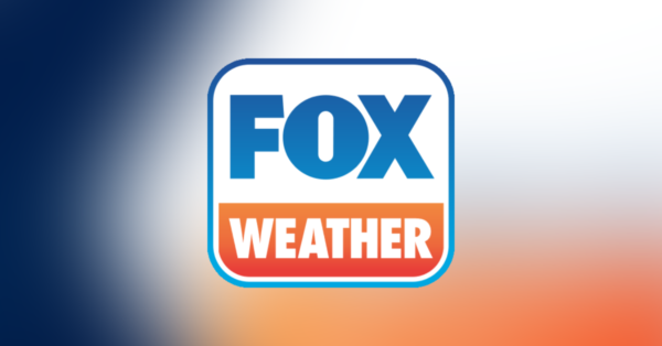The logo of streaming weather service Fox Weather.