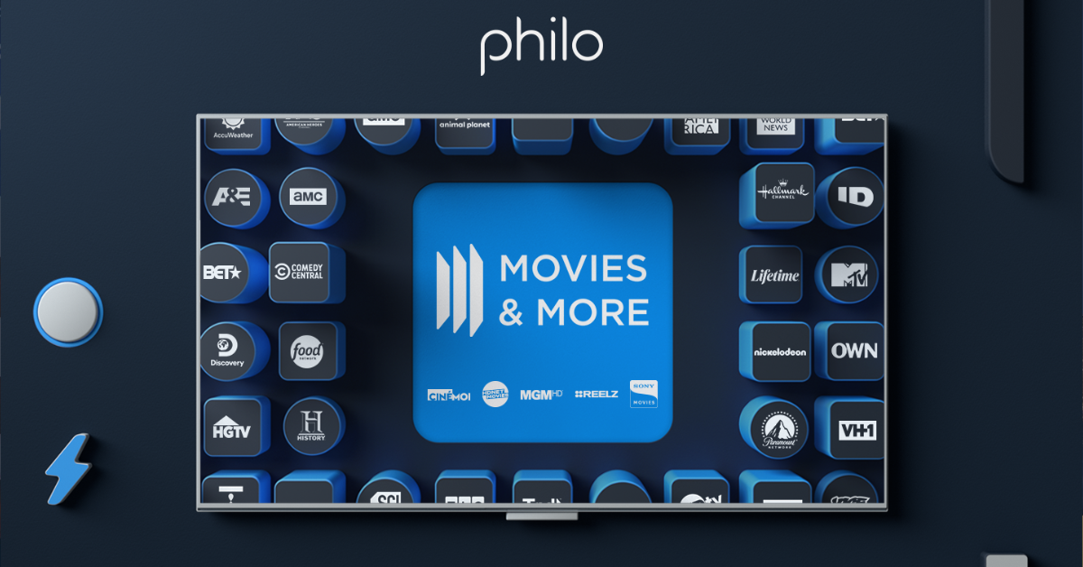 Philo movies and more artwork