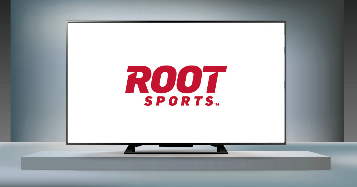 The logo of regional sports network Root Sports.