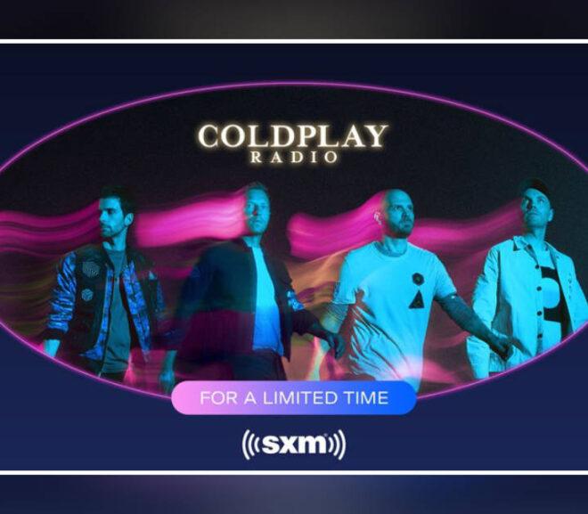 SiriusXM brings back Coldplay Radio for limited run